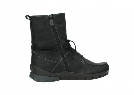 wolky bottines a lacets 01752 galina 11002 nubuck noir_12