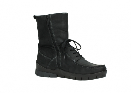 wolky bottines a lacets 01752 galina 11002 nubuck noir_15