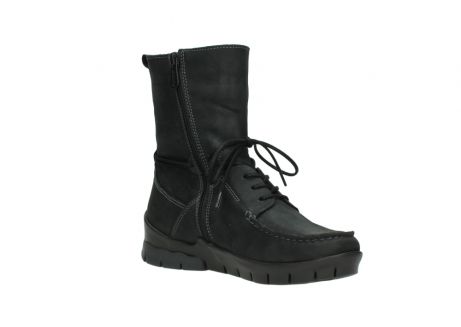 wolky bottines a lacets 01752 galina 11002 nubuck noir_16