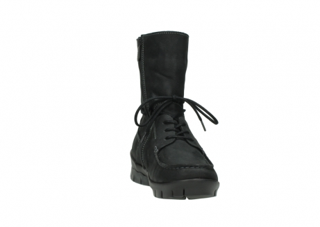 wolky bottines a lacets 01752 galina 11002 nubuck noir_18