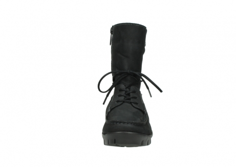wolky bottines a lacets 01752 galina 11002 nubuck noir_19