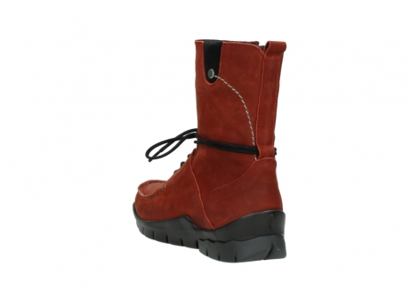 wolky boots 01752 galina 11542 winter rot nubuk_5