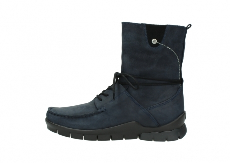 wolky bottines a lacets 01752 galina 11802 nubuck bleu_1