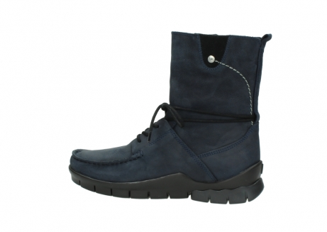 wolky lace up boots 01752 galina 11802 blue oiled nubuck_2