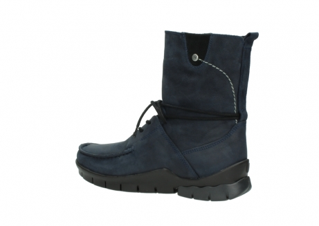 wolky lace up boots 01752 galina 11802 blue oiled nubuck_3