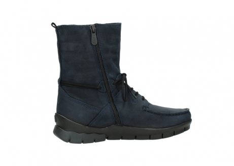 wolky lace up boots 01752 galina 11802 blue oiled nubuck_12