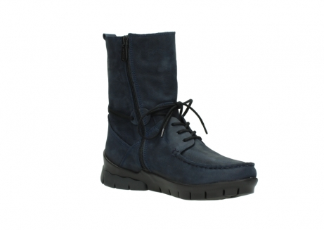 wolky lace up boots 01752 galina 11802 blue oiled nubuck_16