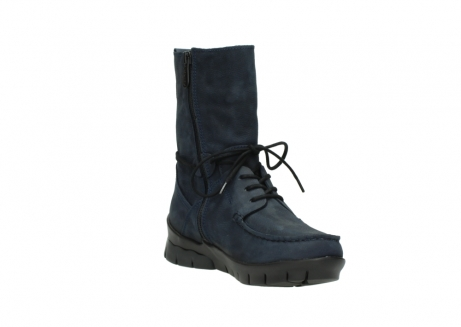 wolky lace up boots 01752 galina 11802 blue oiled nubuck_17