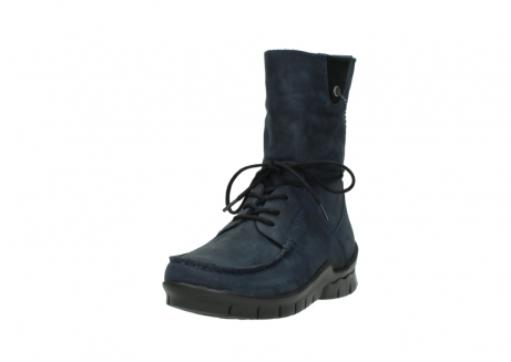 wolky lace up boots 01752 galina 11802 blue oiled nubuck_21