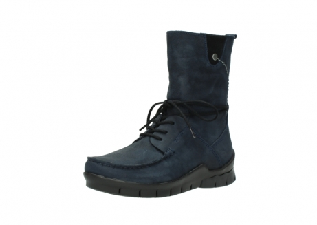 wolky lace up boots 01752 galina 11802 blue oiled nubuck_22