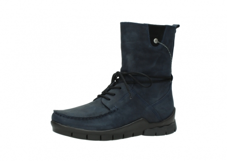 wolky lace up boots 01752 galina 11802 blue oiled nubuck_23