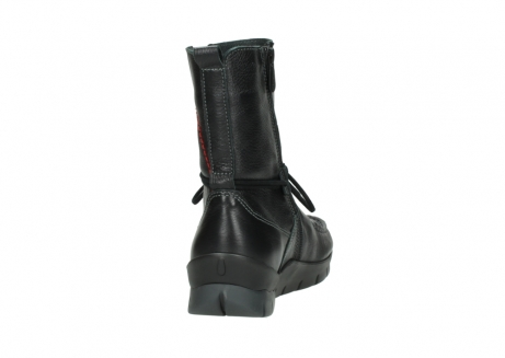 wolky bottines a lacets 01752 galina 30001 cuir noir_8