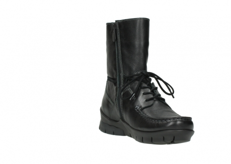 wolky bottines a lacets 01752 galina 30001 cuir noir_17