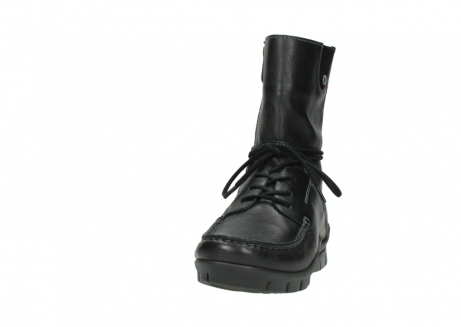 wolky bottines a lacets 01752 galina 30001 cuir noir_20