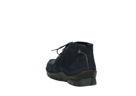 wolky bottines a lacets 01753 misty cw 11802 nubuck bleu_5