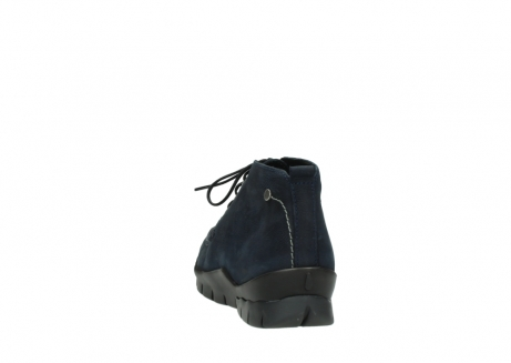 wolky bottines a lacets 01753 misty cw 11802 nubuck bleu_6