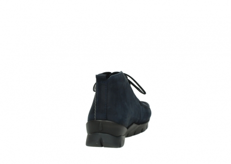 wolky bottines a lacets 01753 misty cw 11802 nubuck bleu_8