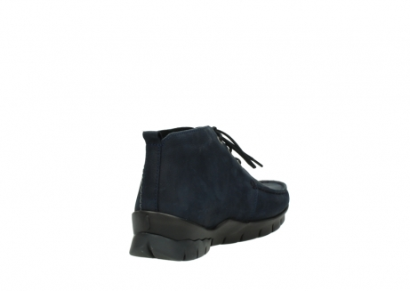 wolky bottines a lacets 01753 misty cw 11802 nubuck bleu_9
