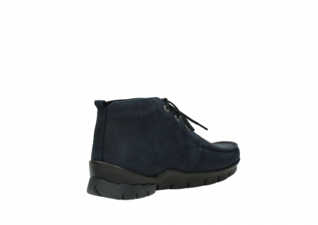 wolky bottines a lacets 01753 misty cw 11802 nubuck bleu_10