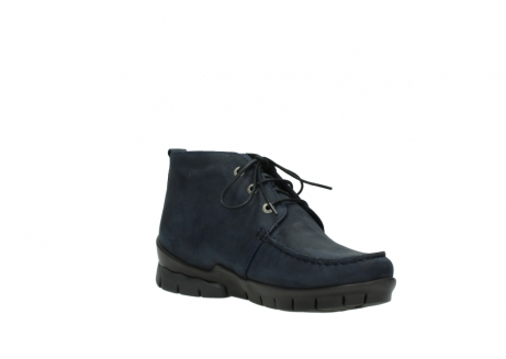wolky bottines a lacets 01753 misty cw 11802 nubuck bleu_16