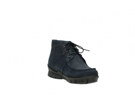 wolky bottines a lacets 01753 misty cw 11802 nubuck bleu_17