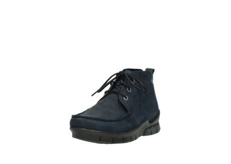 wolky bottines a lacets 01753 misty cw 11802 nubuck bleu_21