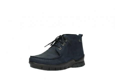 wolky bottines a lacets 01753 misty cw 11802 nubuck bleu_22