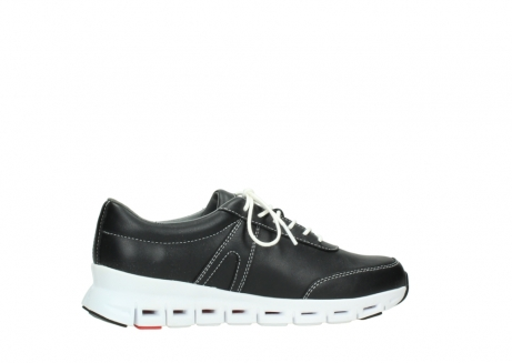 wolky lace up shoes 02050 nano 20000 black leather_12