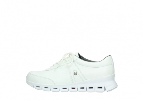 wolky chaussures a lacets 02050 nano 20100 cuir blanc_2