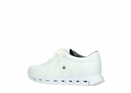 wolky chaussures a lacets 02050 nano 20100 cuir blanc_3