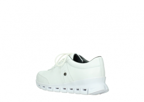 wolky chaussures a lacets 02050 nano 20100 cuir blanc_4