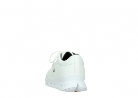 wolky chaussures a lacets 02050 nano 20100 cuir blanc_6
