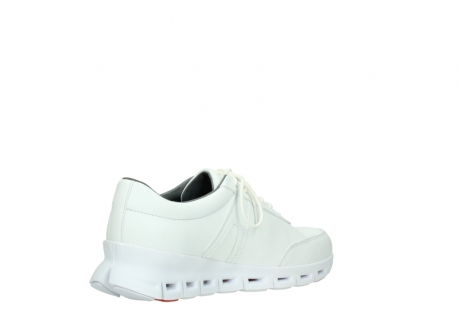 wolky chaussures a lacets 02050 nano 20100 cuir blanc_10