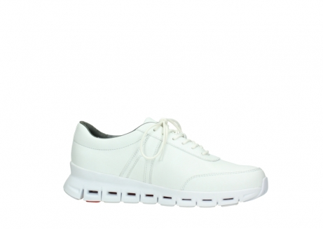 wolky chaussures a lacets 02050 nano 20100 cuir blanc_14