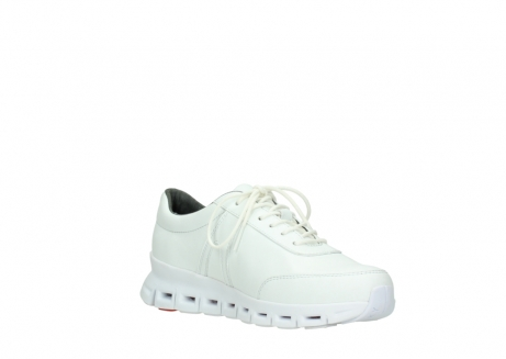 wolky chaussures a lacets 02050 nano 20100 cuir blanc_16