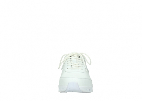 wolky chaussures a lacets 02050 nano 20100 cuir blanc_19
