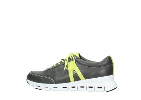 wolky lace up shoes 02050 nano 20219 anthracite yellow leather_2