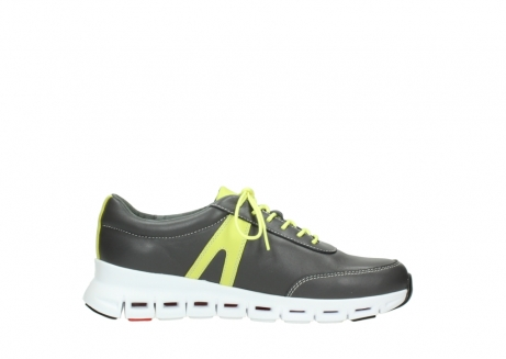 wolky lace up shoes 02050 nano 20219 anthracite yellow leather_13