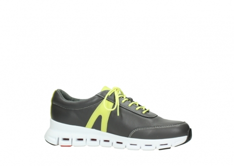 wolky lace up shoes 02050 nano 20219 anthracite yellow leather_14