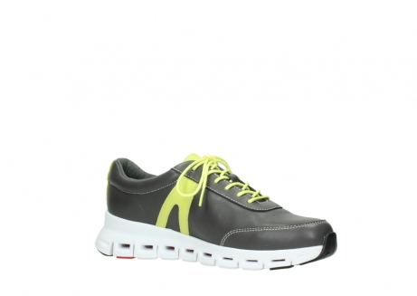 wolky lace up shoes 02050 nano 20219 anthracite yellow leather_15