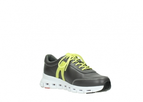 wolky lace up shoes 02050 nano 20219 anthracite yellow leather_16