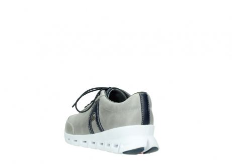 wolky lace up shoes 02050 nano 30208 grey blue leather_5