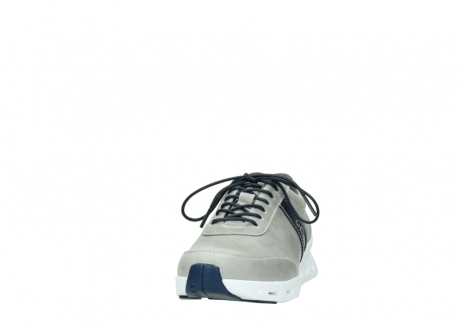 wolky lace up shoes 02050 nano 30208 grey blue leather_20