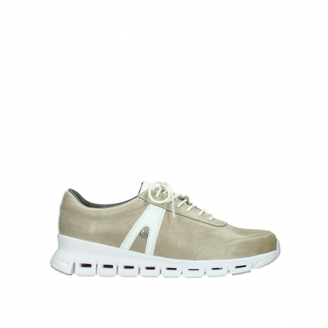 wolky chaussures a lacets 02050 nano 30381 cuir sable blanc