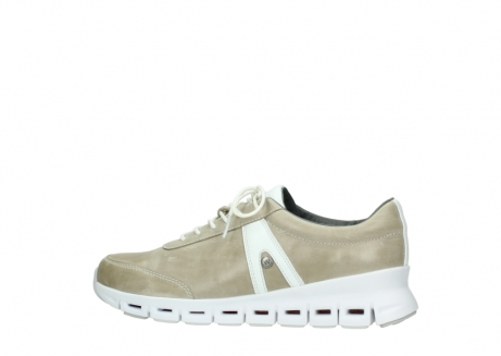 wolky chaussures a lacets 02050 nano 30381 cuir sable blanc_2