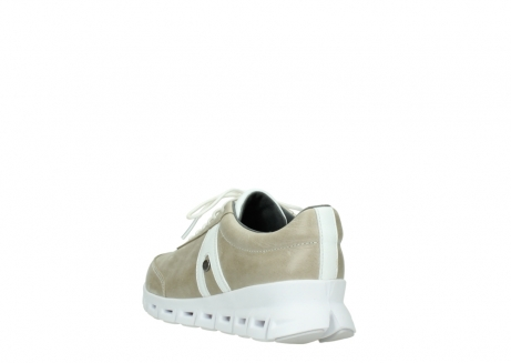 wolky chaussures a lacets 02050 nano 30381 cuir sable blanc_5