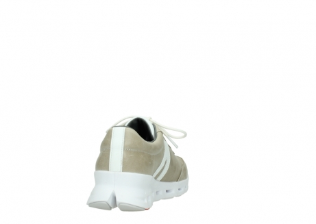 wolky chaussures a lacets 02050 nano 30381 cuir sable blanc_8