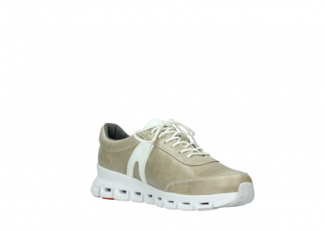 wolky chaussures a lacets 02050 nano 30381 cuir sable blanc_16