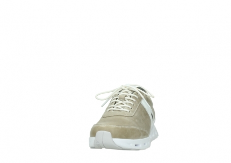 wolky lace up shoes 02050 nano 30381 sand white leather_20