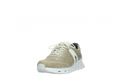 wolky chaussures a lacets 02050 nano 30381 cuir sable blanc_21